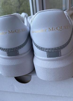 Кеды кроссовки alexander mcqueen3 фото
