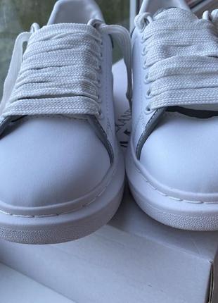 Кеды кроссовки alexander mcqueen2 фото