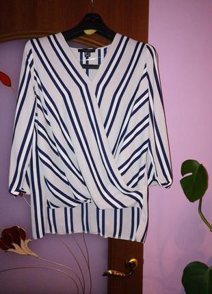Блуза в полоску1 фото