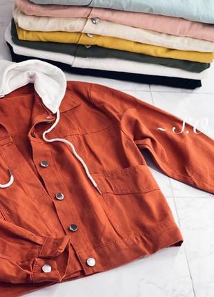 Куртка джинсовка +много цветов1 фото