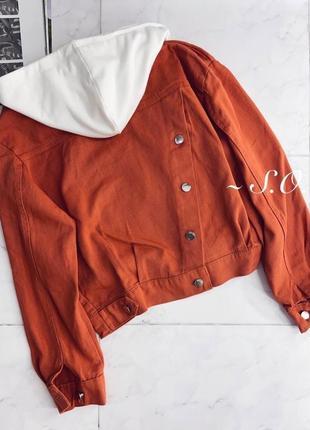 Куртка джинсовка +много цветов2 фото