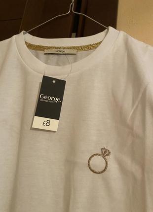 Стильная футболка george4 фото