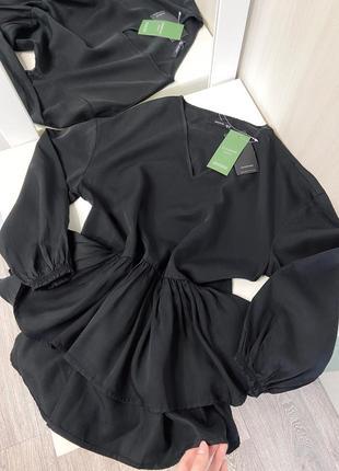 Новая стильная блуза reserved с оборкой воланами , размер хс2 фото