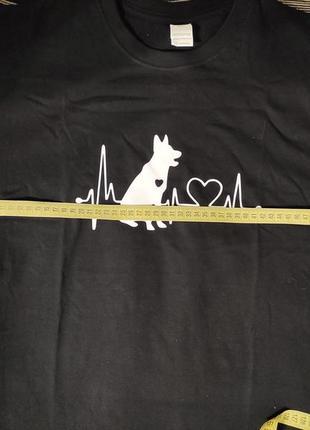 Крутая футболка большой размер пог-61 см4 фото