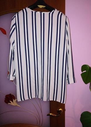 Блуза в полоску6 фото
