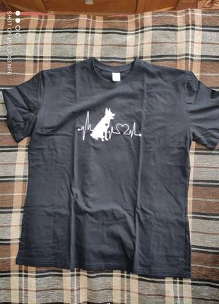 Крутая футболка большой размер пог-61 см1 фото