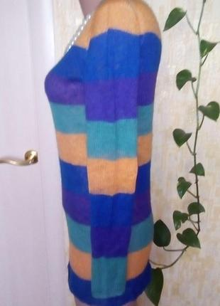 Легкий шерстяной свитерок/свитер/кофта/блузка/худи/рубашка/куртка/кардиган/гольф4 фото