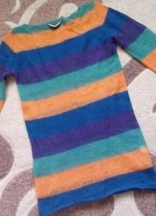 Легкий шерстяной свитерок/свитер/кофта/блузка/худи/рубашка/куртка/кардиган/гольф9 фото