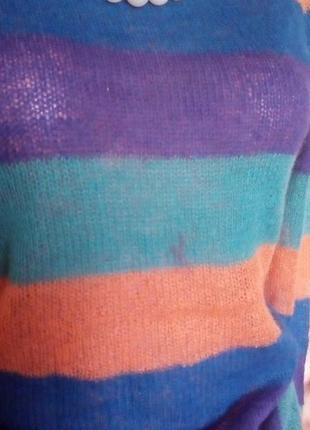 Легкий шерстяной свитерок/свитер/кофта/блузка/худи/рубашка/куртка/кардиган/гольф6 фото