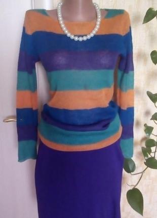 Легкий шерстяной свитерок/свитер/кофта/блузка/худи/рубашка/куртка/кардиган/гольф10 фото