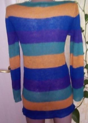 Легкий шерстяной свитерок/свитер/кофта/блузка/худи/рубашка/куртка/кардиган/гольф3 фото