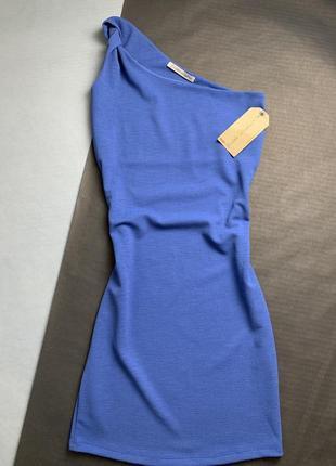 Красиве синє плаття1 фото