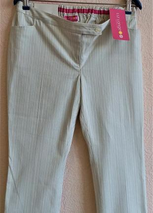 Укороченные хлопковые брюки для беременных liz lange1 фото