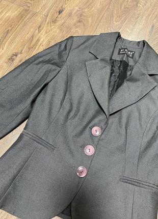 Пиджак приталенный турция размер м4 фото