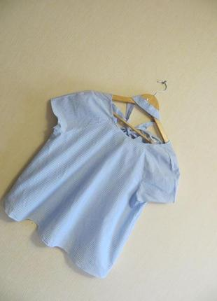 Блуза с жемчужиной zara  (р.l)4 фото