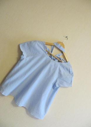 Блуза с жемчужиной zara  (р.l)5 фото
