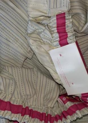 Укороченные хлопковые брюки для беременных liz lange3 фото