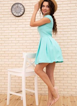 Платье, цвет мятный2 фото