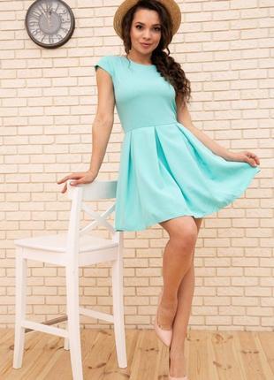 Платье, цвет мятный1 фото