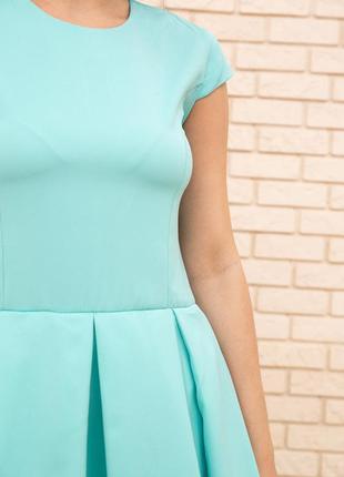 Платье, цвет мятный4 фото