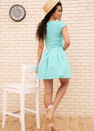 Платье, цвет мятный3 фото