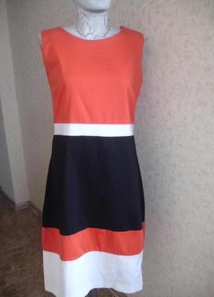 Фирменное george стильное платье на 46-48 размер в новом состоянии1 фото
