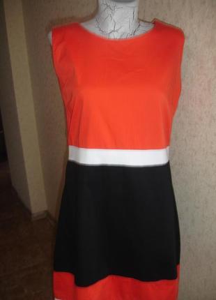 Фирменное george стильное платье на 46-48 размер в новом состоянии2 фото