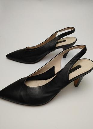 Туфли босоножки новые кожаные topshop 39/62 фото