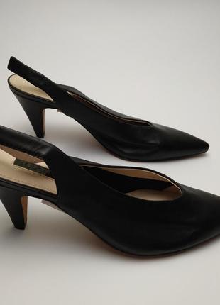 Туфли босоножки новые кожаные topshop 39/65 фото