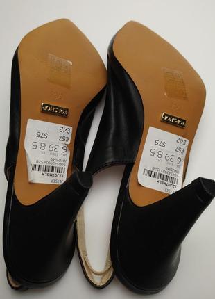 Туфли босоножки новые кожаные topshop 39/63 фото