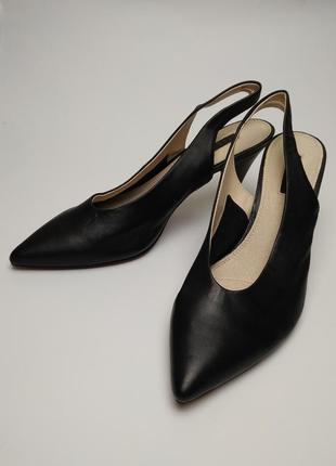 Туфли босоножки новые кожаные topshop 39/61 фото