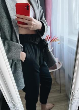 Классические брюки на поясе lc waikiki4 фото