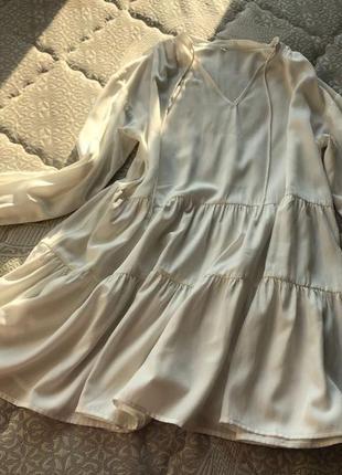Красива, повітряна сукня на літо2 фото