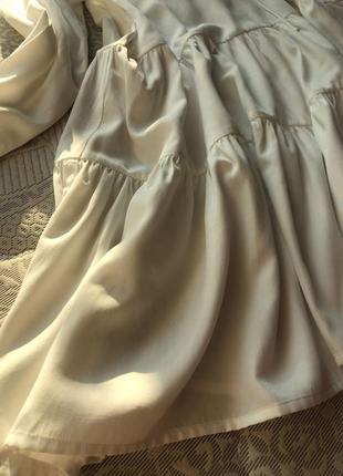 Красива, повітряна сукня на літо8 фото