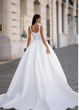 Весільна сукня, бренд millanova2 фото