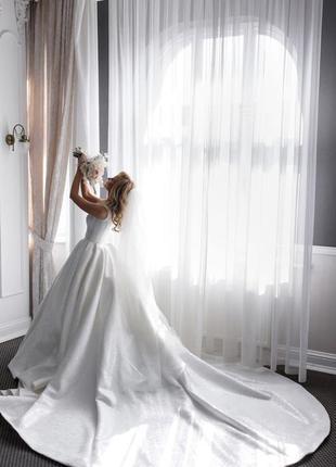 Весільна сукня, бренд millanova4 фото