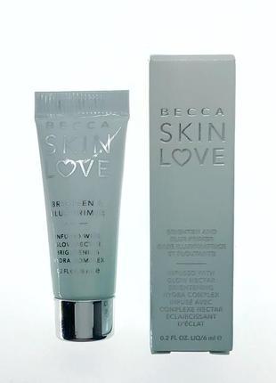 Основа под макияж becca - skin love - brighten and blur primer