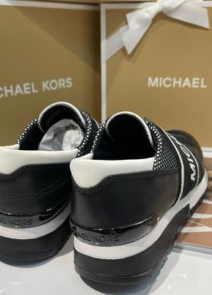 Кроссовки michael kors mesh кожа оригинал5 фото