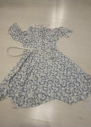 Легчайшее платье из штапеля