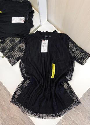 Новая кружевная блуза reserved