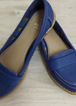 Модные/лоферы/красивого/синего/цвета/tu/р.36/23.5🛍️