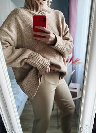 Объемный оверсайз свитер от h&m