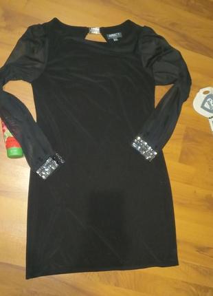 Черное платье1 фото