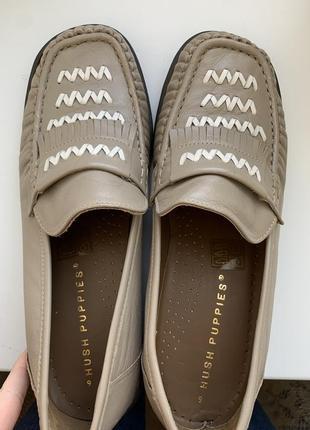Шкіряні туфлі на весну осінь