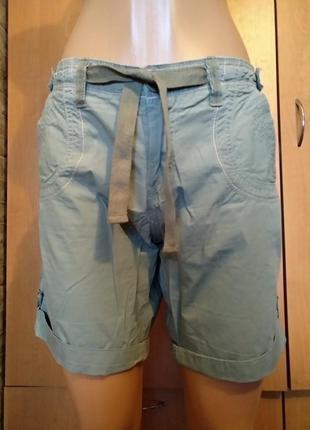 Летние хлопковые шорты пот-44 см