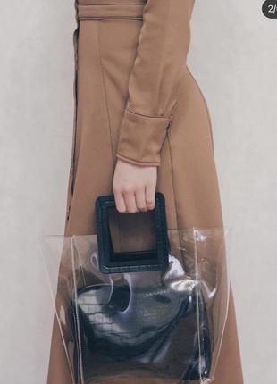 Модная прозрачная сумочка