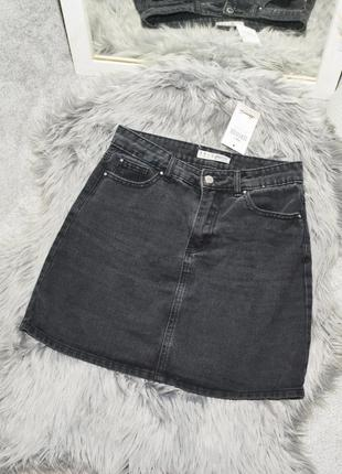 Новая базовая джинсовая юбка denim co