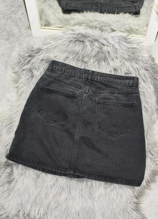 Новая базовая джинсовая юбка denim co2 фото