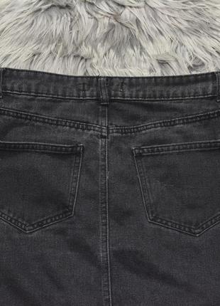 Новая базовая джинсовая юбка denim co3 фото