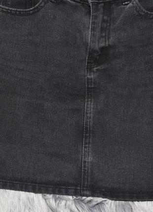 Новая базовая джинсовая юбка denim co4 фото